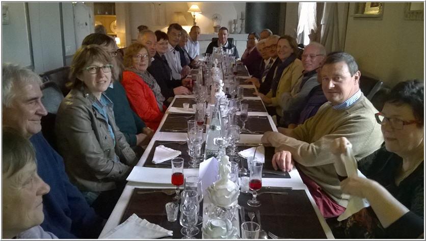 Le repas de la Saint Georges 2015